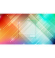 abstract geometric shapes on colorful background vector image