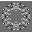 abstract ornate mandala decorative frame vector image