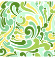 abstract swirl seamless pattern for your design vector image