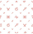 arrows icons pattern seamless white background vector image vector image
