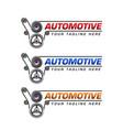 automotive logo template design