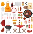 BBQ barbecue icons