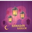 Ramadan Lanterns vector image vector image