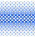 symmetrical halftone square pattern background vector image vector image