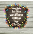 Christmas Calligraphy - Vintage Signboard EPS 10 vector image vector image