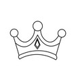 christmas crown of wise king manger vector image vector image