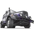 dieselpunk jeep vector image vector image
