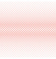 Geometrical halftone square pattern background