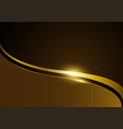 gold luxurious design template vector image