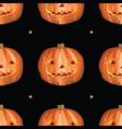 halloween seamless pattern 4 vector image vector image