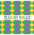 Mardi Gras seamless pattern background vector image vector image