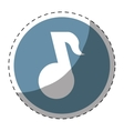 music player button thumbnail icon image vector image
