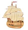 Old Sailing Ship vector image