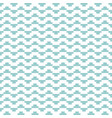tile mint green and white pattern vector image