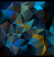 abstract irregular polygon background peacock blue vector image vector image