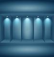 display presentation wall vector image vector image