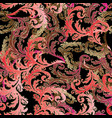 floral baroque seamless pattern