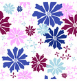 Floral seamless white pattern vector | Price: 1 Credit (USD $1)