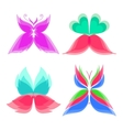 Logo Butterfly Color vector image