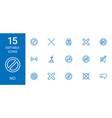 no icons vector image vector image
