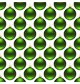 seamless christmas balls vector image