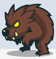 Werewolf vector image vector image