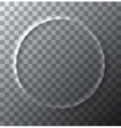 modern circle effect of crumpled on vector image