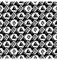 Triangle simple seamless pattern hand drawn vector image