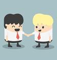 Businessman Handshake vector image vector image