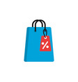 commerce shopping flat image icon vector image vector image