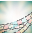 film background retro vector image vector image