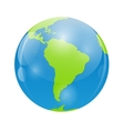 Globe Icon for Your Design vector image