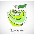 GreenApple vector image vector image