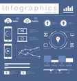 info graphics Mobile Data set vector image vector image