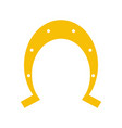 isolated horseshoe icon image vector image vector image