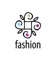 logo fashion vector image vector image