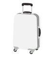 Luggage wheeled vector image vector image