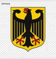 symbol of germany vector image