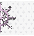 timon ship pattern background icon vector image