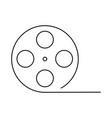 abstracct cinema symbol vector image vector image