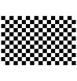 checkerboard black and white background vector image