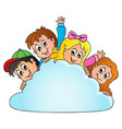 children theme image 2 vector image vector image