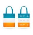 Color Sale Bag Menu Set vector image vector image