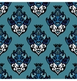 Damask Floral seamless pattern vector image vector image