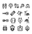electricelectronic icon vector image vector image