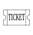 abstracct cinema symbol vector image
