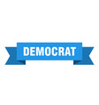 democrat vector image vector image