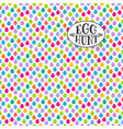 easter egg hunt seamless pattern vector image