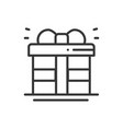 gift box with ribbon icon present giftbox new vector image