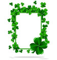 greeting cards st patrick day vector image vector image